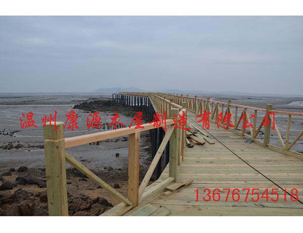 海边栈道建造