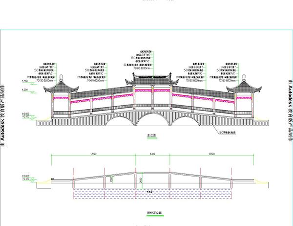 大乌石廊桥2_t3-Model