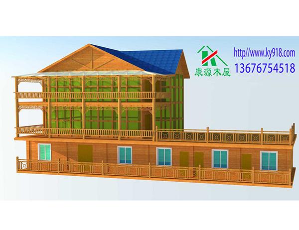木屋制造效果图